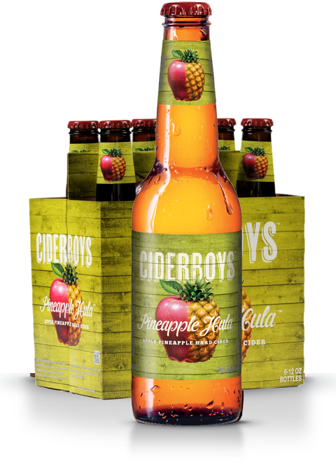 CIDERBOYS PINEAPPLE HULA