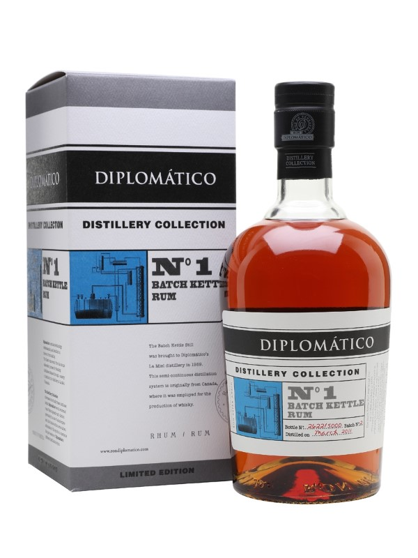 DIPLOMATICO NO.1 BATCH KETTLE