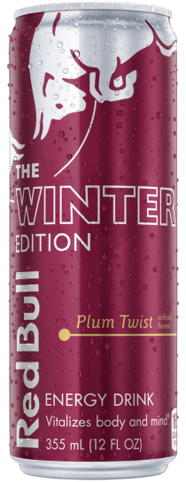 RED BULL THE WINTER EDITION PLUM TWIST