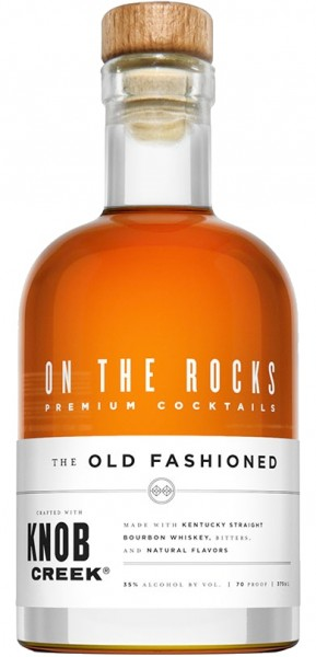ON THE ROCKS THE OLD FASHION WITH KNOB CREEK