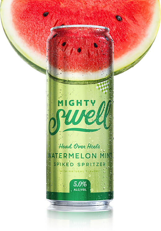 MIGHTY SWELL WATERMELON MINT SPIKED SELTZER