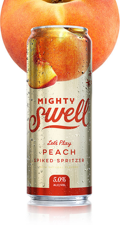 MIGHTY SWELL PEACH SPIKED SELTZER
