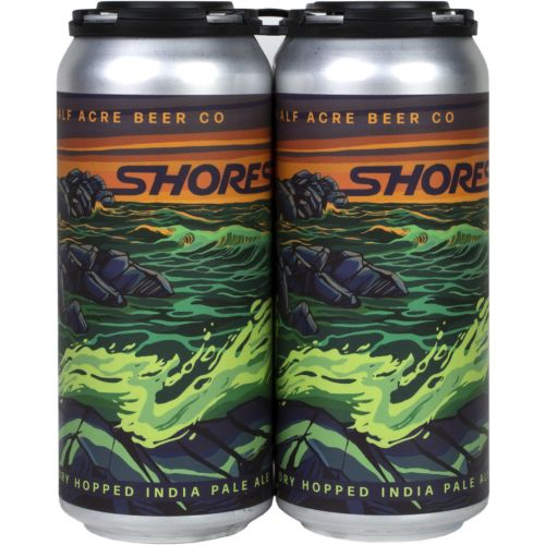 HALF ACRE SHORES DOUBLE DRY HOPPED IPA