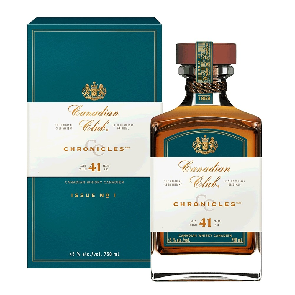 CANADIAN CLUB CHRONICLES 41 YR