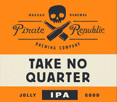 PIRATE REPUBLIC TAKE NO QUARTER IPA