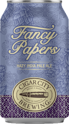 CIGAR CITY FANCY PAPERS HAZY IPA
