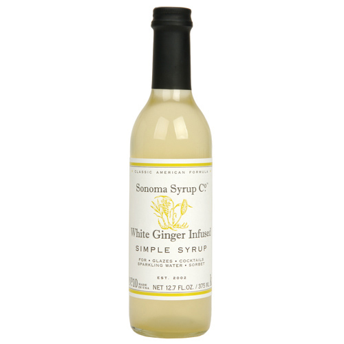 SONOMA WHITE GINGER SIMPLE SYRUP
