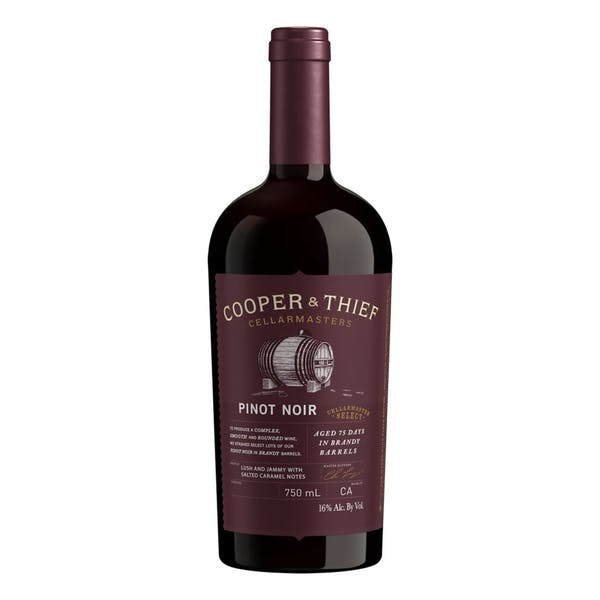 COOPER & THIEF PINOT NOIR BRANDY BARREL AGED