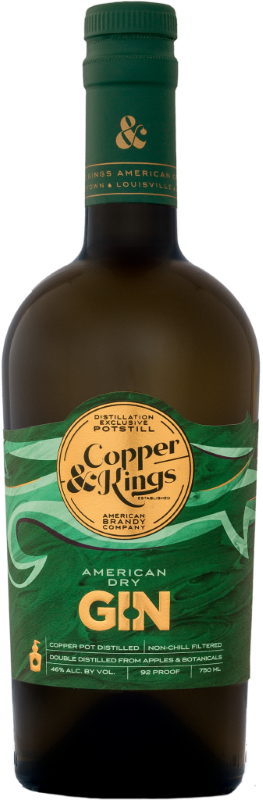 COPPER & KINGS GIN AMERICAN DRY