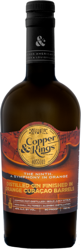 COPPER & KINGS GIN THE NINTH.