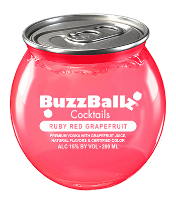 BUZZ BALLZ RUBY RED GRAPEFRUIT