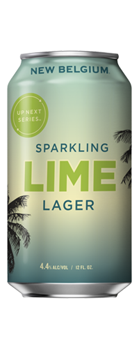 NEW BELGIUM SPARKLING LIME LAGER
