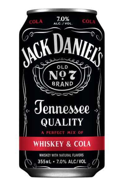 JACK DANIELS RTD WHISKEY & COLA