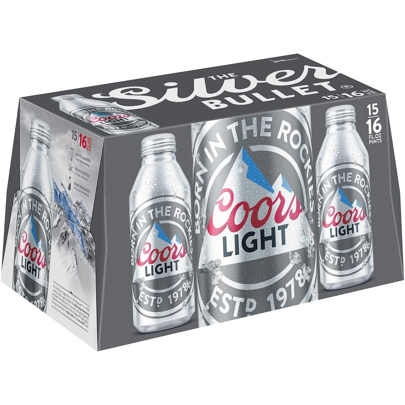 COORS LIGHT ALUMINUM