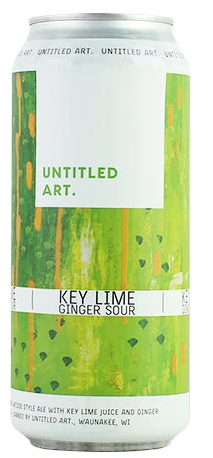 UNTITLED ART KEY LIME & GINGER SOUR