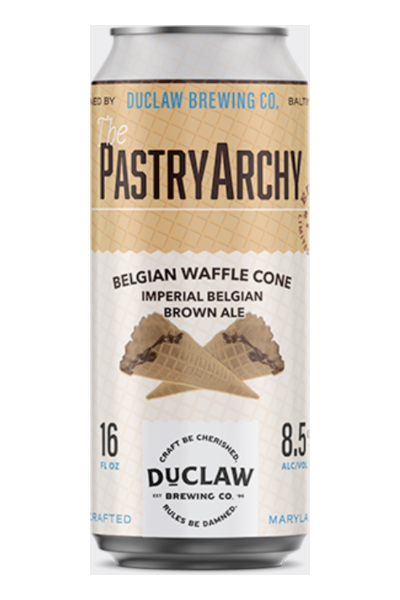 DUCLAW PASTRY ARCHY BELGIAN WAFFLE CONE