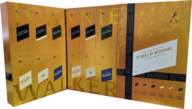 JOHNNIE WALKER ADVENT CALENDAR GIFT SET