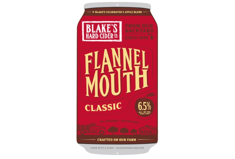 BLAKES FLANNEL MOUTH CIDER
