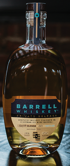 BARRELL WHISKEY PRIVATE RELEASE DH37 GERMAN ICE WINE BARREL
