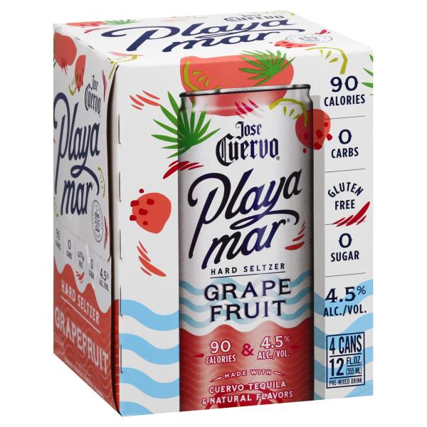 CUERVO PLAYAMAR HARD SELTZER GRAPEFRUIT
