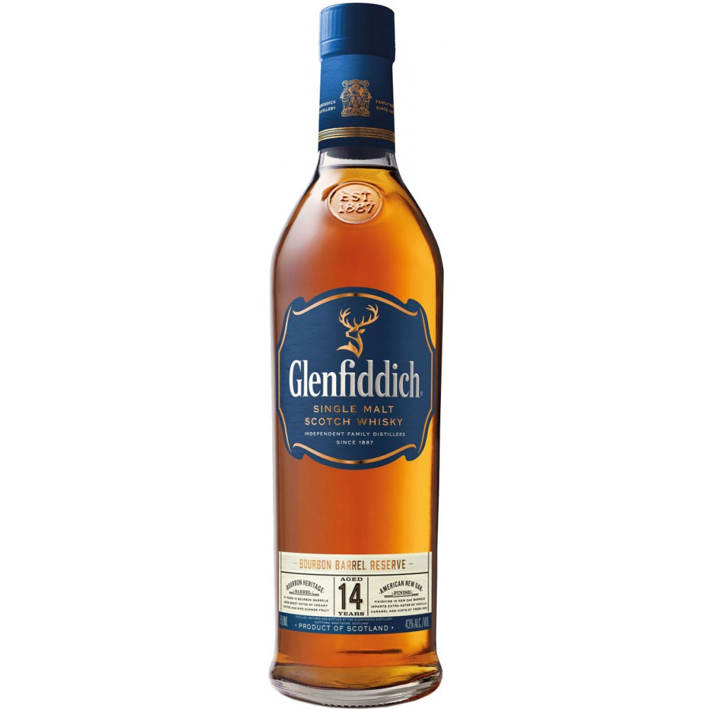 GLENFIDDICH 14 YR BOURBON BARREL RESERVE