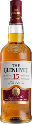 GLENLIVET 15 YR FRENCH OAK RESERVE