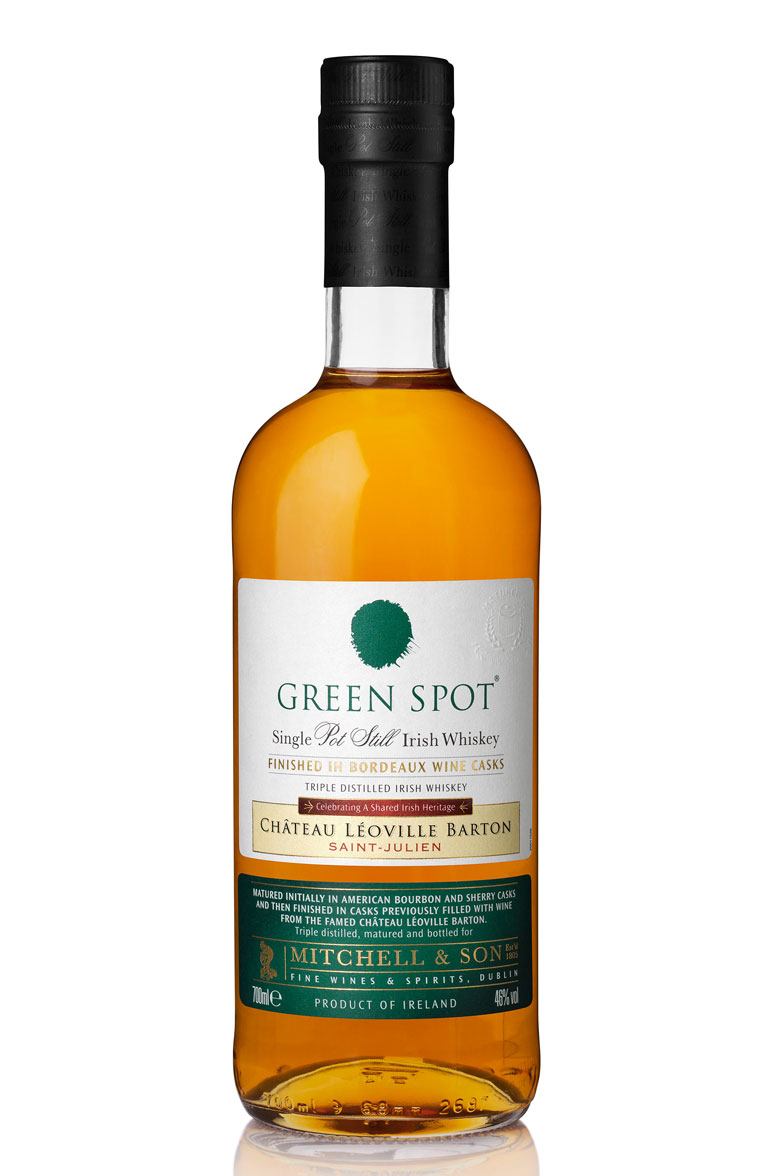 GREEN SPOT CHATEAU LEOVILLE BARTON FINISHED IRISH WHISKEY