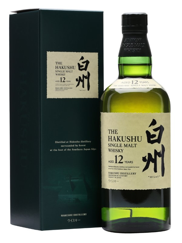 HAKUSHU 12 YR SINGLE MALT