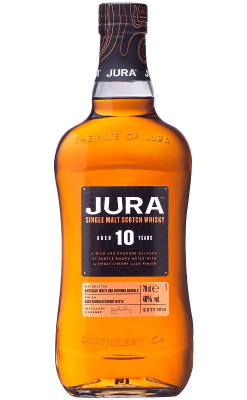 JURA 10 YR SINGLE MALT