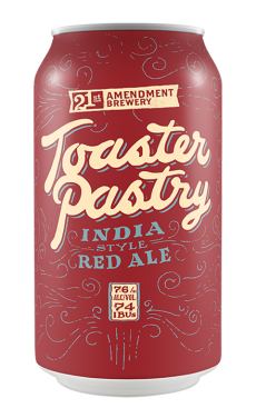 21ST AMENDMENT TOASTER PASTRY INDIA STYLE RED ALE