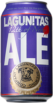 LAGUNITAS 12 TH OF NEVER