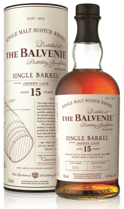 BALVENIE 15 YR SHERRY CASK SINGLE BARREL