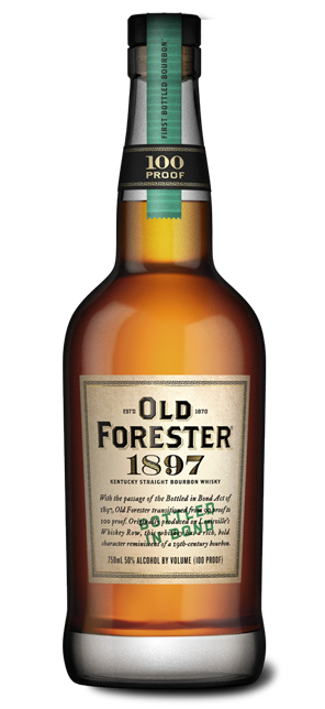 OLD FORESTER 1897 100 PROOF