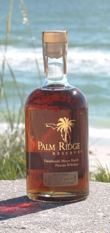 PALM RIDGE RESERVE FLORIDA WHISKEY