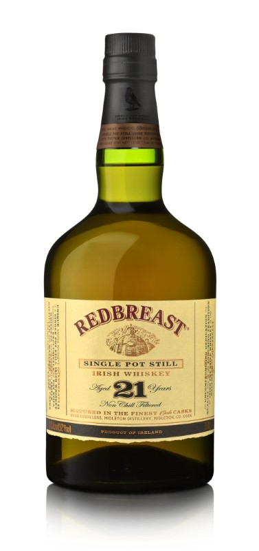 REDBREAST IRISH WHISKEY 21 YR