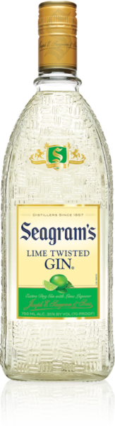SEAGRAMS GIN LIME