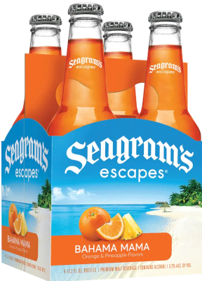 SEAGRAMS ESCAPES BAHAMA MAMA ORANGE/PINEAPPLE