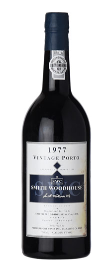 SMITH WOODHOUSE VINTAGE PORT 1977