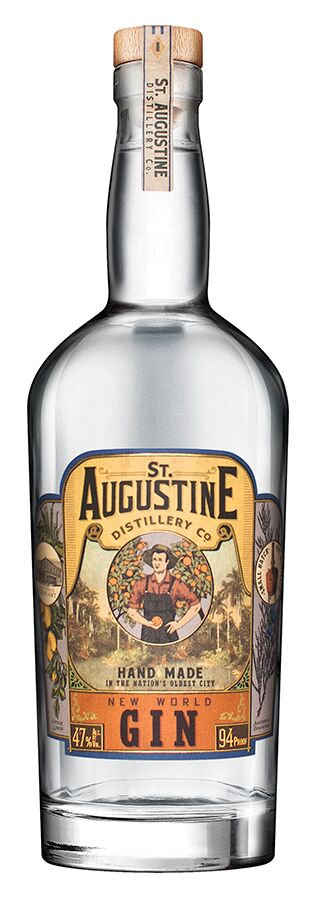 ST AUGUSTINE DISTILLERY NEW WORLD GIN