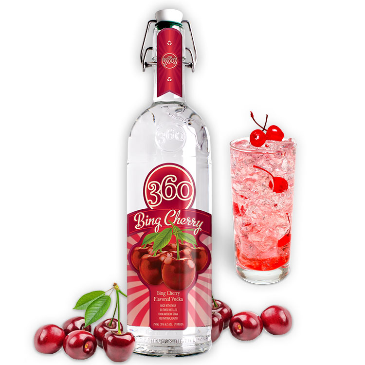 360 VODKA BING CHERRY