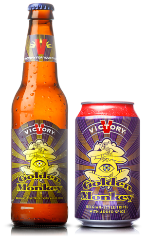 VICTORY BREWING GOLDEN MONKEY
