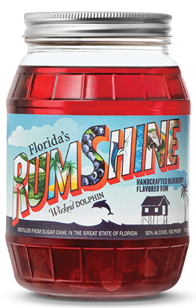 WICKED DOLPHIN BLUEBERRY RUMSHINE