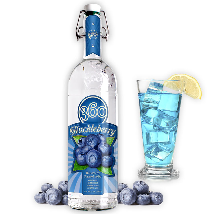 360 VODKA HUCKLEBERRY