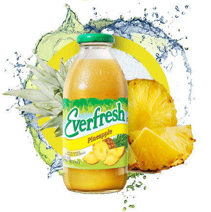 EVERFRESH PINEAPPLE JUICE