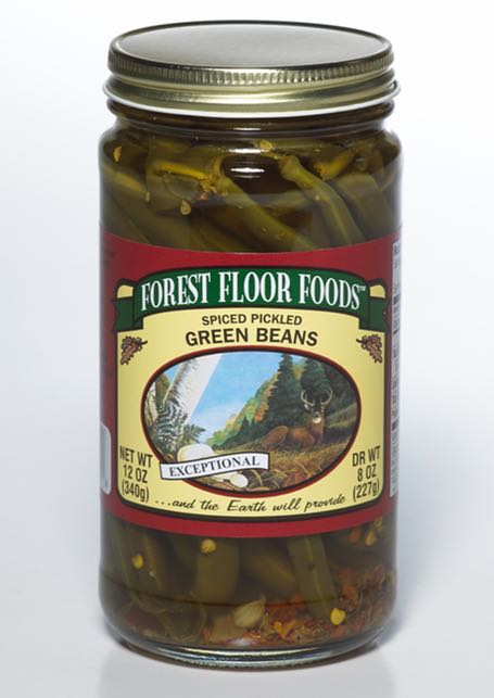 FOREST FLOOR SPICED GREEN BEANS