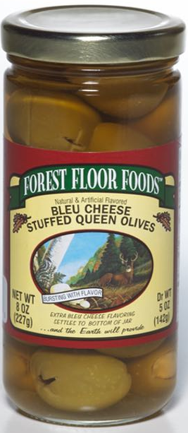 FOREST FLOOR BLUE CHEESE STUFFED OLIVES