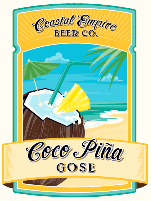 COASTAL EMPIRE COCO PINA GOSE