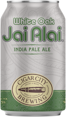 CIGAR CITY JAI ALAI WHITE OAK IPA