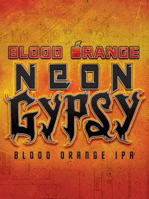 DUCLAW NEON GYPSY BLOOD ORANGE IPA