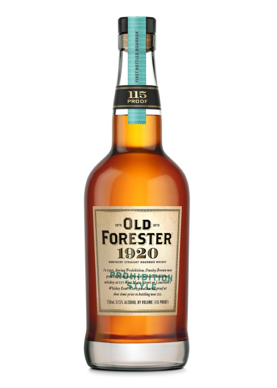 OLD FORESTER 1920 PROHIBITION
